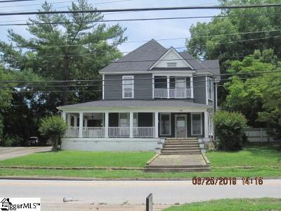 Laurens Single Family Home For Sale: 505 W Main