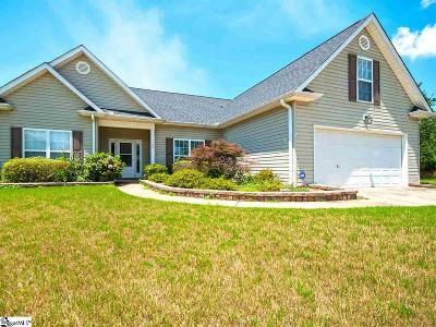 Simpsonville Single Family Home For Sale: 408 Cotton Hall