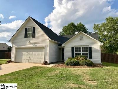 Simpsonville Single Family Home Contingency Contract: 4 Earleigh