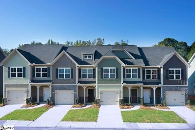 Simpsonville Condo/Townhouse For Sale: 513 Milbury #92