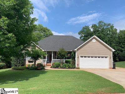 Greer Single Family Home For Sale: 117 Faulkner