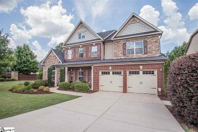 Simpsonville Single Family Home For Sale: 448 River Summit