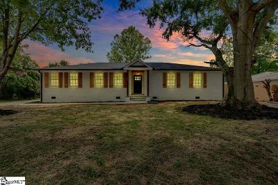 Mauldin Single Family Home For Sale: 108 Baldwin