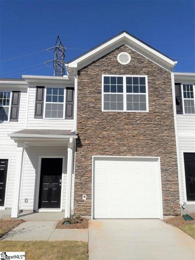 Easley Condo/Townhouse For Sale: 206 Northridge