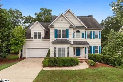 Simpsonville Single Family Home For Sale: 20 Dapple Gray