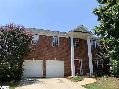 Simpsonville Single Family Home For Sale: 22 Stonewater