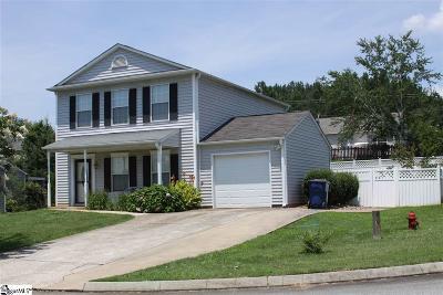 Easley Single Family Home For Sale: 100 Habersham