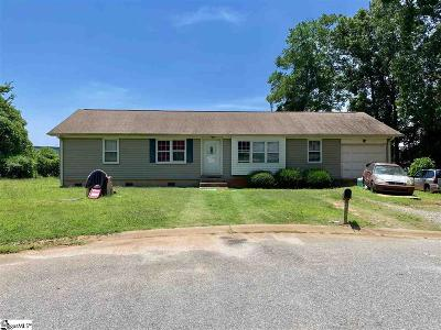 Spartanburg Single Family Home Contingency Contract: 228 Arling