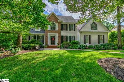 Simpsonville Single Family Home Contingency Contract: 116 Glenbriar