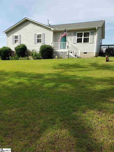 Greenwood SC Single Family Home For Sale: $85,000