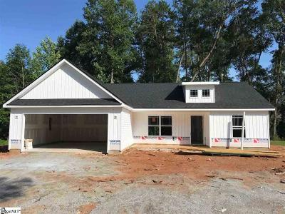 Spartanburg Single Family Home Contingency Contract: 198 Bondale