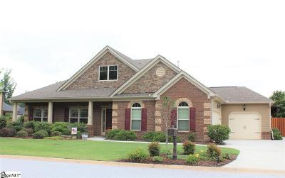 Simpsonville Single Family Home For Sale: 107 Versilia