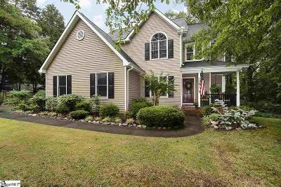 Simpsonville Single Family Home Contingency Contract: 405 Davenport