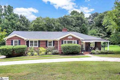 Taylors Single Family Home For Sale: 3 Hilltop
