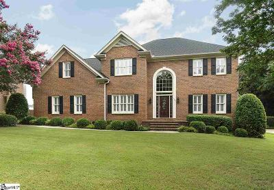 Simpsonville Single Family Home Contingency Contract: 104 Sunning Hill