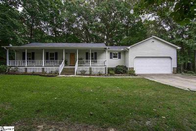 Simpsonville Single Family Home For Sale: 218 Georges Hideaway
