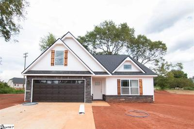 Inman Single Family Home For Sale: 321 Broken Chimney