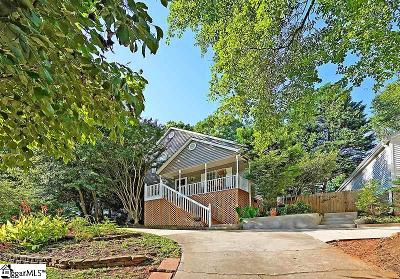 Greenville Single Family Home For Sale: 36 Townes Square