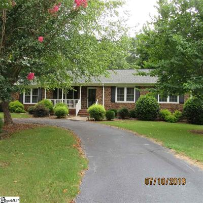 Spartanburg Single Family Home For Sale: 203 Shelton