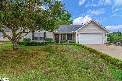 Greer Single Family Home For Sale: 11 Dill Creek