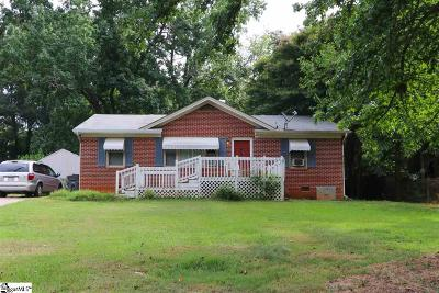 Greenville Single Family Home Contingency Contract: 118 Oak