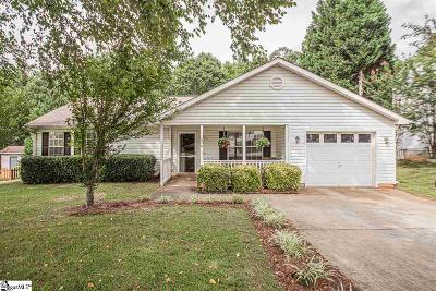 Fountain Inn Single Family Home Contingency Contract: 536 Country Gardens
