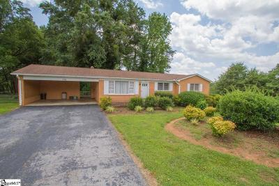 Easley Single Family Home Contingency Contract: 116 E Hill