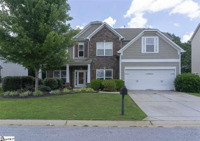 Simpsonville Single Family Home For Sale: 404 River Summit