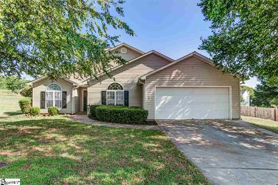 Simpsonville Single Family Home Contingency Contract: 204 Merlin