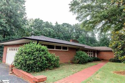 Spartanburg Single Family Home Contingency Contract: 189 Walden