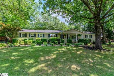 Greer Single Family Home For Sale: 704 Phillips