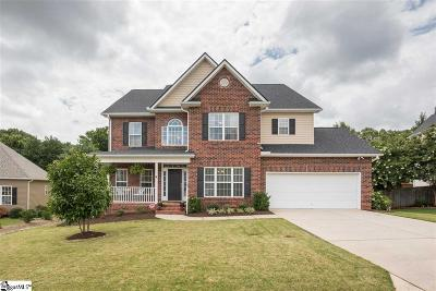 Greer Single Family Home For Sale: 106 W Spindletree