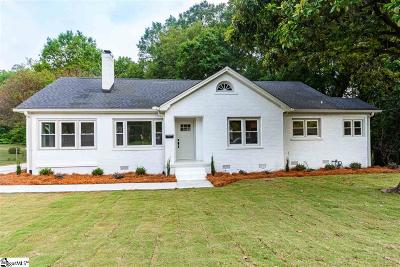 Greenville Single Family Home For Sale: 2021 East North
