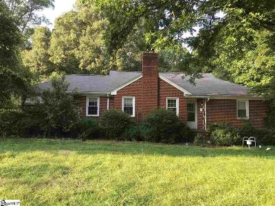 Greenville Single Family Home Contingency Contract: 806 N Franklin