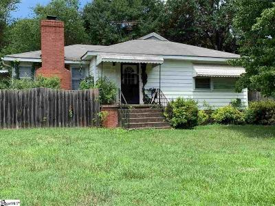 Greenville Single Family Home Contingency Contract: 1 Erskine