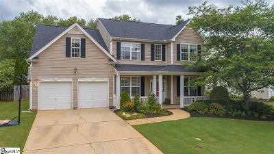 Simpsonville Single Family Home Contingency Contract: 312 Waterton