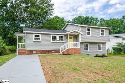Travelers Rest Single Family Home Contingency Contract: 109 Wendfield
