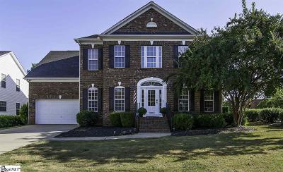 Greer Single Family Home For Sale: 1000 Carriage Park