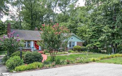 Greenville Single Family Home For Sale: 6 Berryhill