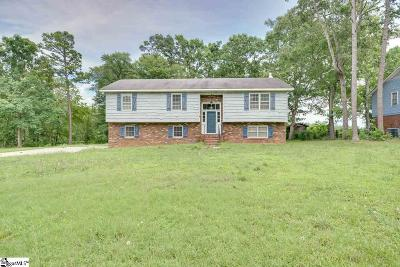 Spartanburg Single Family Home For Sale: 108 Rockwood
