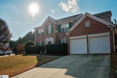 Greer Single Family Home For Sale: 1 Wolf Den