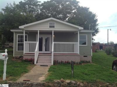Greer Single Family Home For Sale: 201 N Line Street Extension