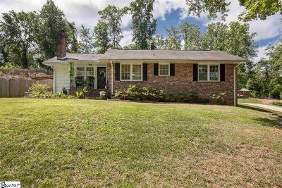 Greenville Single Family Home Contingency Contract: 103 Pemberton