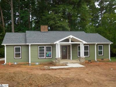 Spartanburg Single Family Home For Sale: 904 Lucerne
