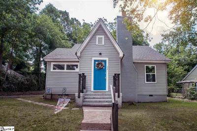 Spartanburg Single Family Home For Sale: 321 Ridgewood