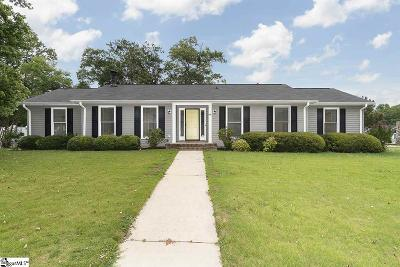 Taylors Single Family Home For Sale: 100 Stonehenge