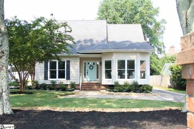 Greenville Single Family Home For Sale: 110 Ridge