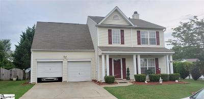 Simpsonville Single Family Home Contingency Contract: 4 Summerchase