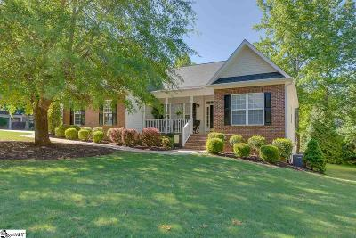 Simpsonville Single Family Home For Sale: 1 Amsterdam