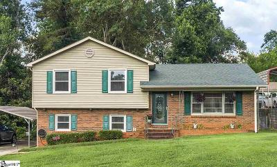 Spartanburg Single Family Home For Sale: 204 Fieldcrest